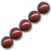 3mm bordeaux swarovski perler