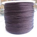 1,0mm nylon knyttesnor, brun-20