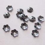4mm gunmetal perleskåle, 100 stk-20