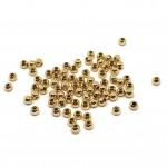 3mm guld perler