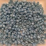 8/0 Glas seed beads, skyblå 2-3mm, 10g-20