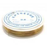 guldtråd 0,6mm