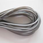 2mm hul gummi, grå 10m-20