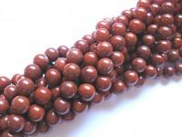 8mm red stone perler