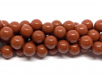 10mm red stone perler