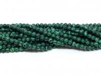 3mm syntetisk malakit perler