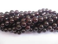 10mm rund granat perler