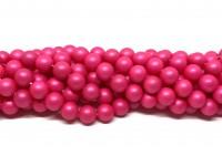 8mm neon pink perler