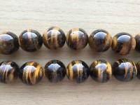 20mm rund tigerøje