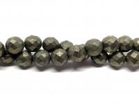 10mm facetslebet pyrit