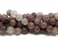 10mm jordbær kvarts perler