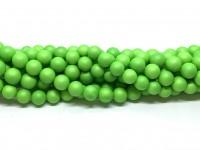 8mm neon grønne perler