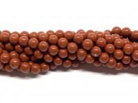 6mm red stone perler