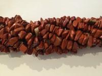 red stone chips perler