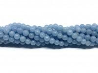 4mm runde perler af angelit