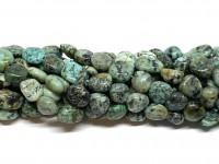 afrikansk turkis nuggets perler