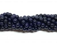 8mm blå goldstone