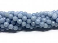 8mm runde perler af angelit