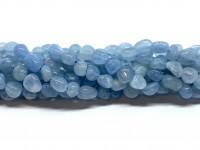 polerede nuggets perler af aquamarin
