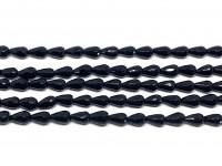 små sorte dråbe perler