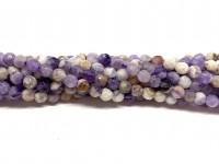 4mm facetslebet flower ametyst