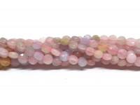 Morganit mønt perler