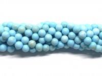 8mm blå magnesit perler