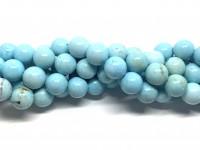 12mm larimar blå perler