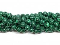 8mm syntetisk malakit perler