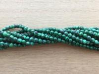 4mm syntetisk malakit perler