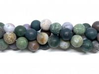 12mm matte fancy jaspis perler
