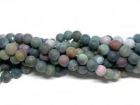 10mm matte fancy jaspis perler