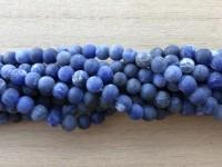6mm matte runde somalia perler