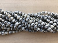 8mm matte dalmatiner jaspis