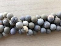 12mm matte perler