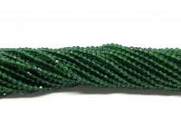 syntetiske grønne spinel perler 2mm