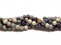 6mm porcelæns jaspis perler
