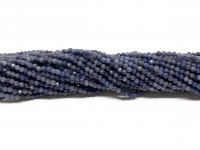 2mm facetslebet blå safir