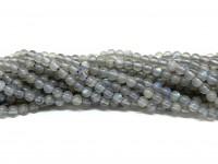 3mm matte labradorit perler