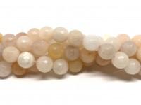 10mm facetslebet pink aventurin perler