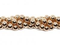 10mm rosaguld perler