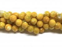 10mm gule agat perler