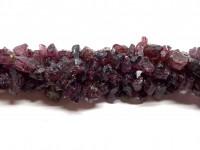 rå garnet perler