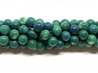 10mm mørke grønne agat perler