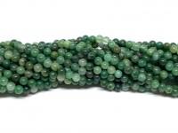 3mm grønne sten perler