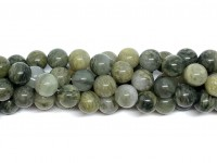 10mm grønne kvarts perler