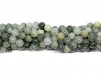 8mm grønne kvarts perler