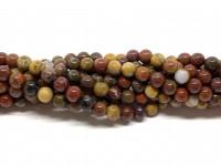 6mm runde perler af warring states agat