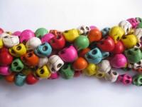 multifarvet skull perler