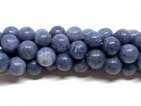 12mm blå koral perler